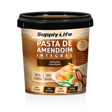 Pasta de Amendoim c/ Agave - Supply Life