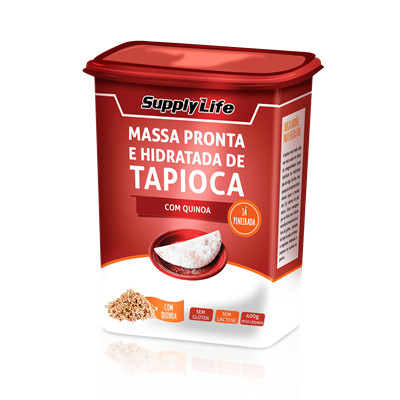 Tapioca c/ Quinoa - Supply Life