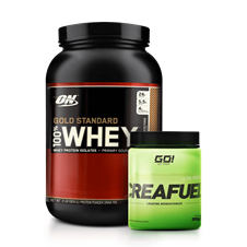 Combo Whey Gold 100% + Creatina - Multimarcas
