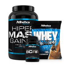 Combo Hiper Mass Gainer - Atlhetica Pro Series