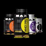 Combo Massa Muscular + Definição - Max Titanium