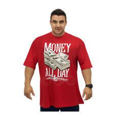 Camiseta Money All Day - BodyBuilder House