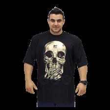 Camiseta Caveira - BodyBuilder House