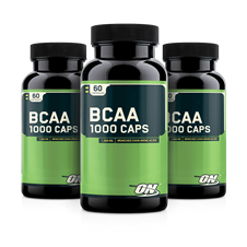 BCAA 1000 (60 caps) Leve 3 Pague 2 - Optimum Nutrition