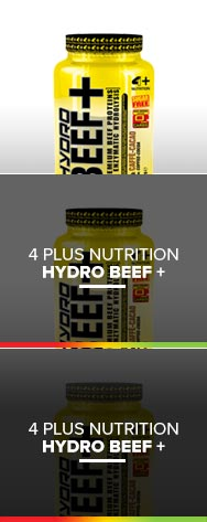 HYDRO BEEF + 4 PLUS NUTRITION