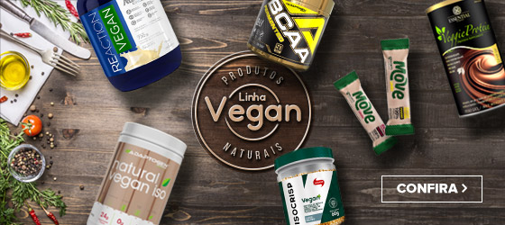 Linha de Suplementos e Produtos Vegan