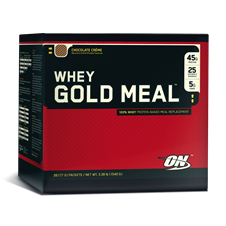 Whey Gold Meal (1540g - 20packs) - Optimum Nutrition