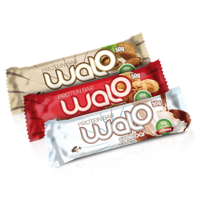 Walo (Barra crocante de proteína) - 4 Plus Nutrition