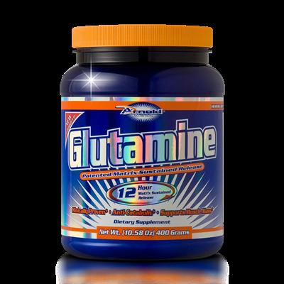 Glutamine 12 Hour (Matrix Sustained Release) - Arnold Nutrition