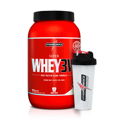 Super Whey 3W (900g) - Integralmédica