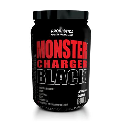 Monster Charger Black - Probiótica