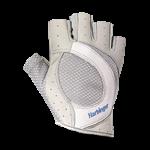 Luvas de Musculação Pro Series - Feminina - Branca com Cinza - Harbinger