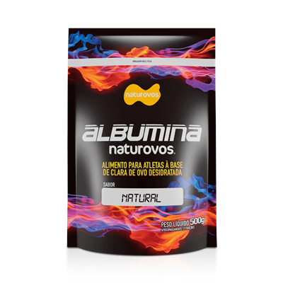 Albumina 100% Pura - NaturOvos