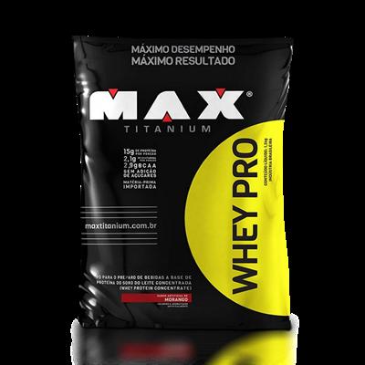Whey Pro Refil - Max Titanium