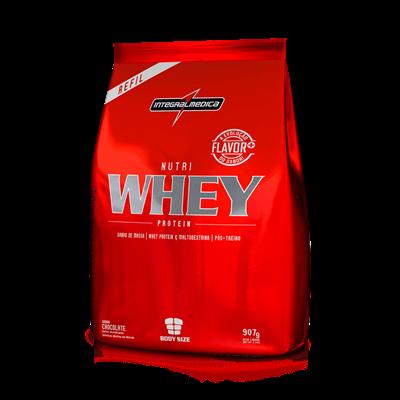 Nutri Whey Protein 900g Refil - Integralmédica
