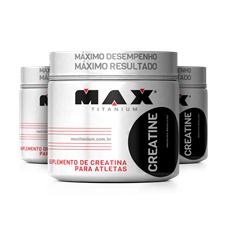Creatina (150g) Leve 3 Pague 2 - Max Titanium