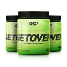 Get Over (Pré-Treino) Leve 3 Pague 2 - Go Nutrition