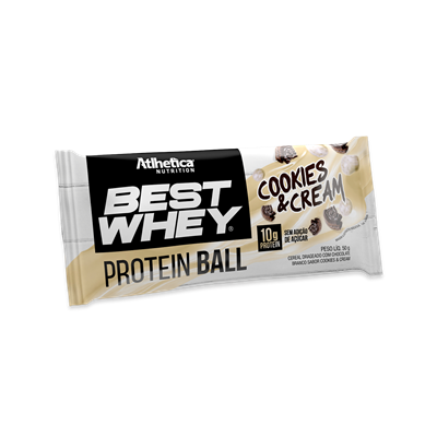 c419cf23d Best Whey Protein Ball (50g) Atlhetica Nutrition - Loja do Suplemento