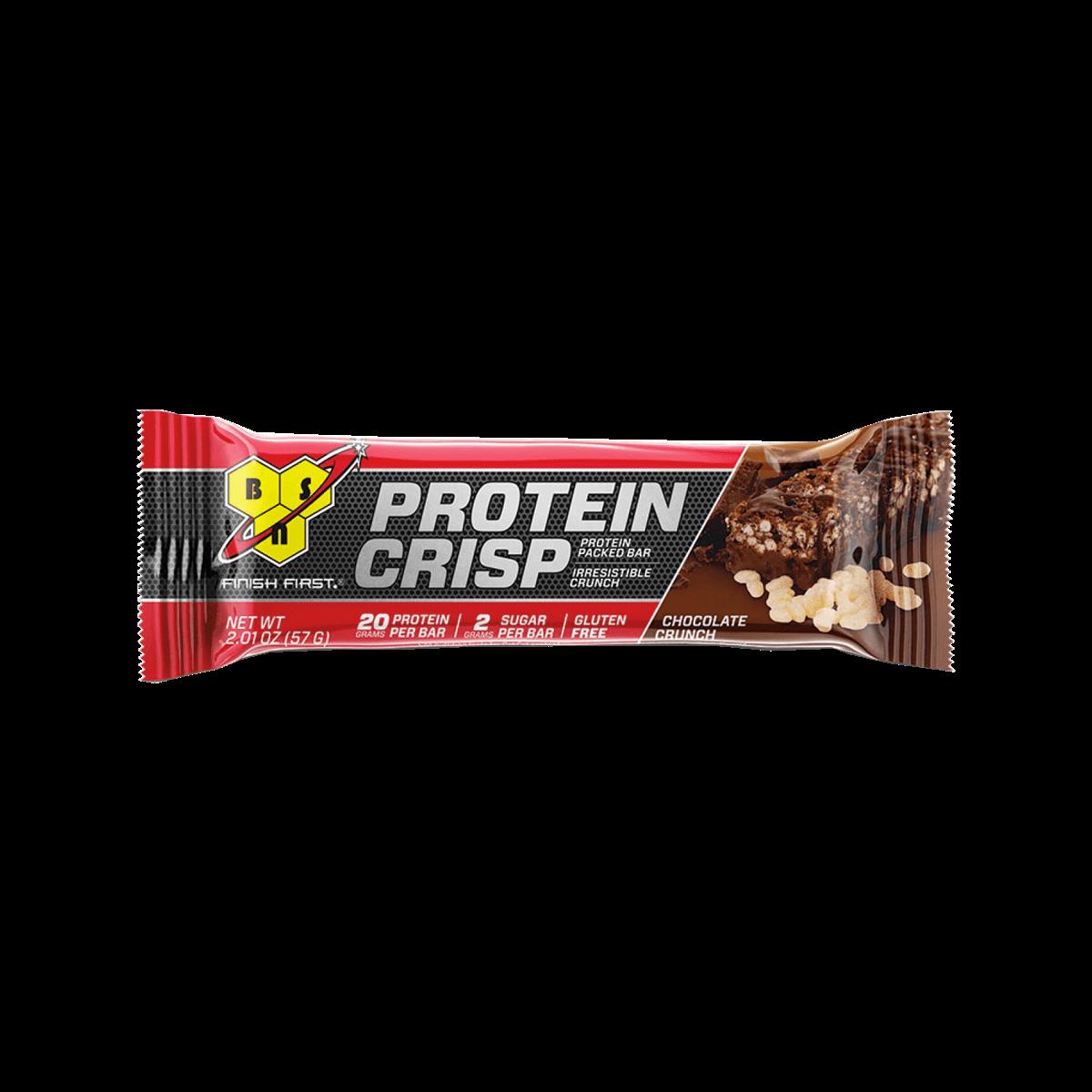 49ca9cffd Protein Crisp Bar (57g) BSN - Loja do Suplemento