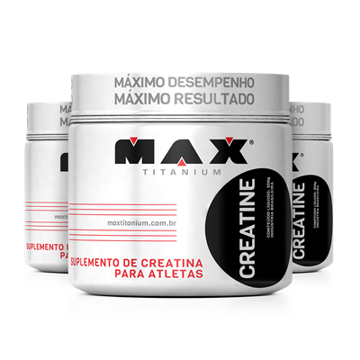 Creatina (300g) Leve 3 Pague 2 - Max Titanium