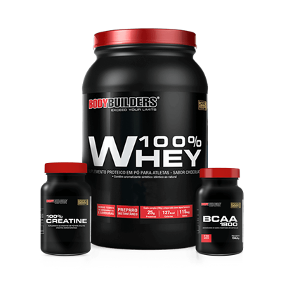 Combo 100% Whey - BodyBuilders