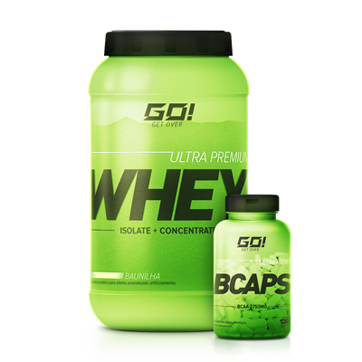 Combo Whey Protein + BCaps - GO Nutrition