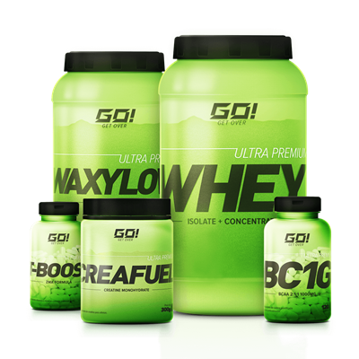 Combo Massa Muscular Avançada - GO Nutrition