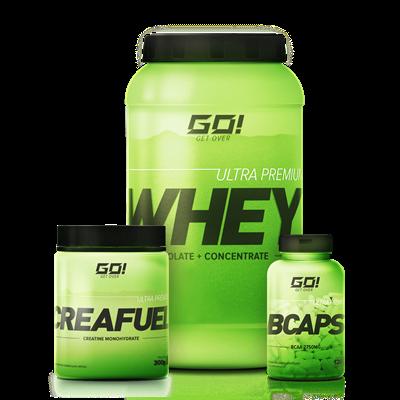 Combo Massa Muscular - GO Nutrition