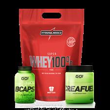 Combo Whey 100% Refil - Multimarcas