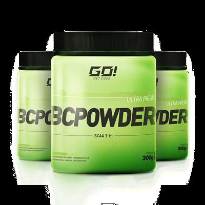 BCPowder (BCAA em Pó) Leve 3 Pague 2 - Go Nutrition