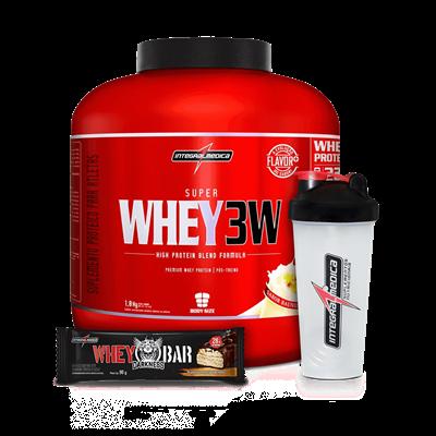 Super Whey 3W (1800g) - Integralmédica
