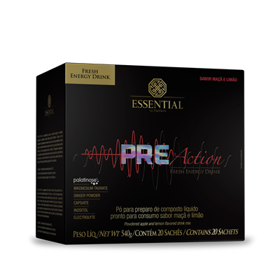PRE-ACTION Energy Drink - Essential Nutrition
