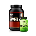 Combo Whey Gold 100% + BCAPS - Multimarcas