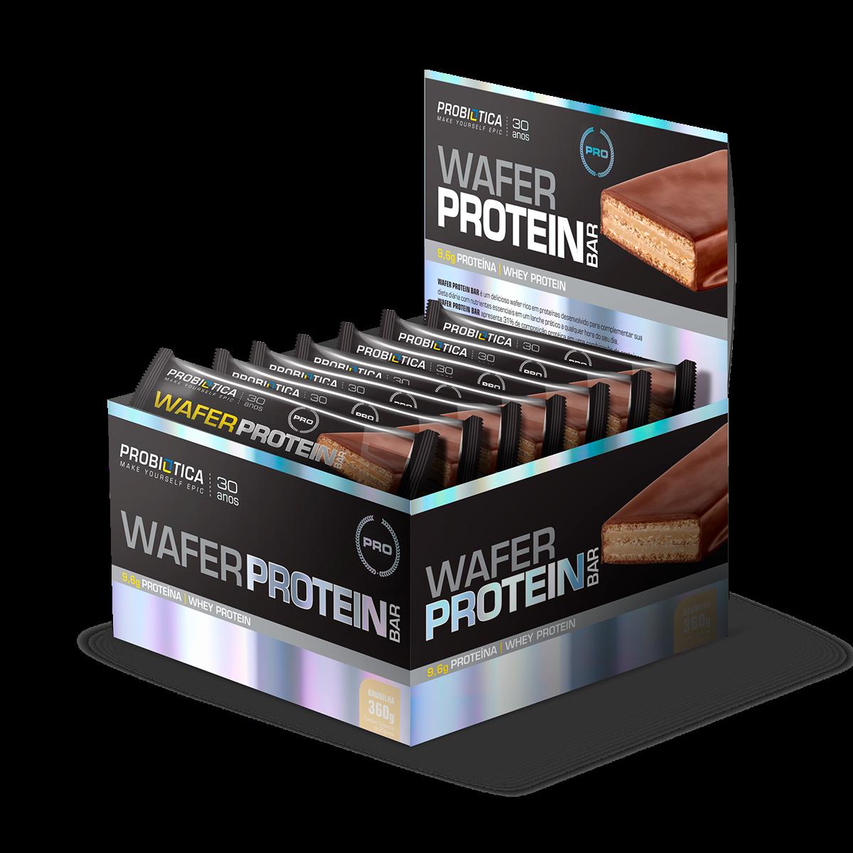 b590c9472 Wafer Protein Bar Probiótica - Loja do Suplemento