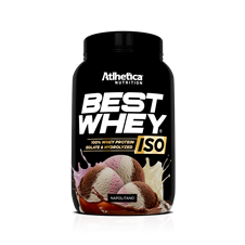 Best Whey Iso (Best Whey Isolada) - Atlhetica Nutrition