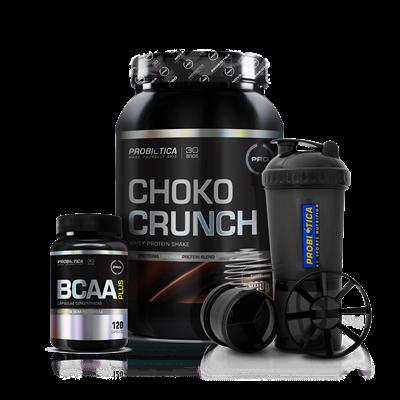 Combo Whey Choko Crunch- Probiótica