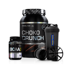 Combo Whey Choko Crunch - Probiótica