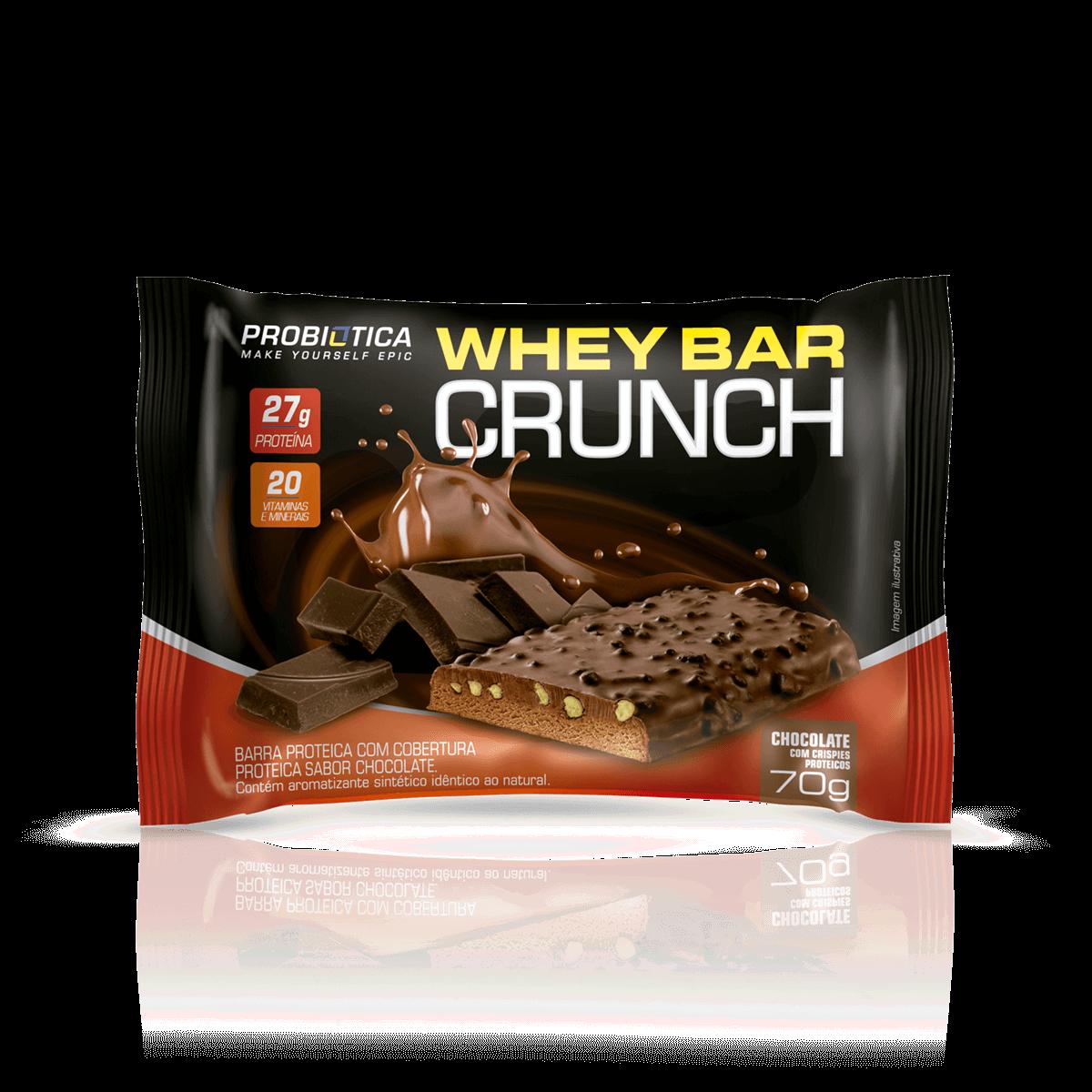 62c4d0688 Whey Bar Crunch Probiótica - Loja do Suplemento