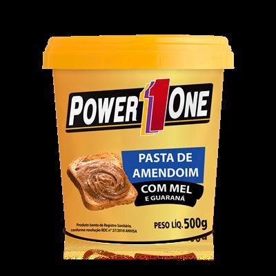 Pasta de Amendoim c/ Mel e Guaraná - Power One