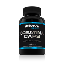 Creatina Caps - Atlhetica Pro Series
