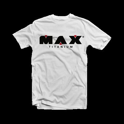 Camiseta Branca - Max Titanium