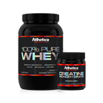Combo 100% Whey - Atlhetica Nutrition
