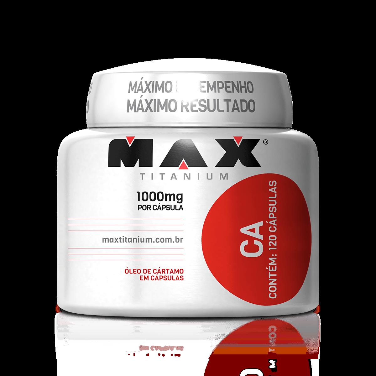 317486413 CA (120 cápsulas) Max Titanium - Loja do Suplemento