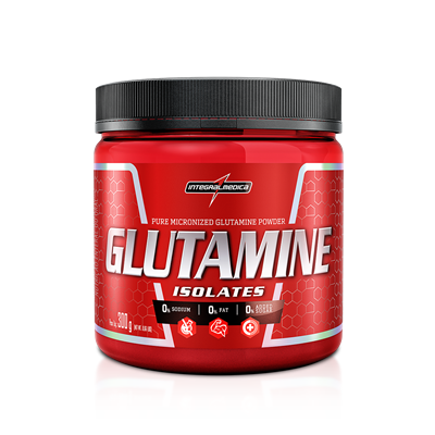 Glutamine Isolates - IntegralMédica - 300g