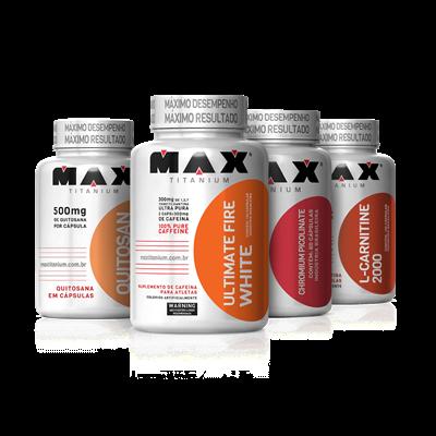 Combo Metabolismo Ativo 24hrs - Max Titanium