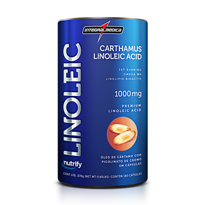 Linoleic 1000mg (180 Cápsulas) - Integralmédica