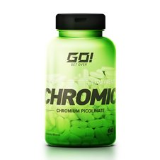 Chromic (Cromo Picolinato) Ultra Premium - GO Nutrition