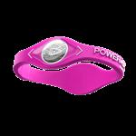 Pulseira Power Balance em Silicone (Rosa/Branco) - Power Balance