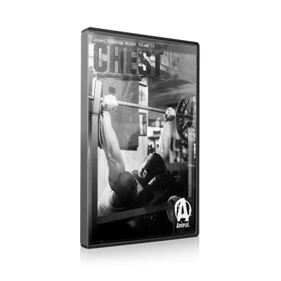 DVD ANIMAL Training Series Volume II - Chest (Peito) - Universal Nutrition