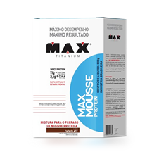Mousse Protein - Max Titanium